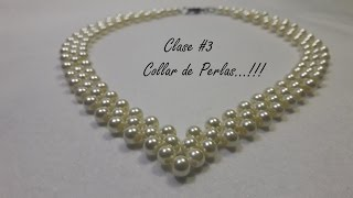 getlinkyoutube.com-Collar de Perlas...!!!(Clase #3)