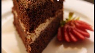 getlinkyoutube.com-يوميات شري طريقة عمل كيك الشكولاتة الدسمة Devil's Food cake