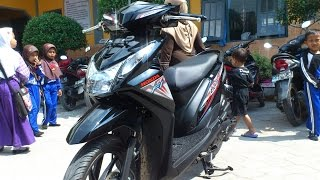 getlinkyoutube.com-Honda Beat eSP CW CBS ISS Black Edition