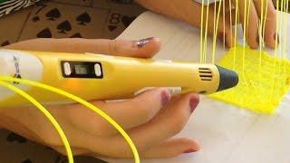 getlinkyoutube.com-3d Printing Pen Review: Scribbler v2