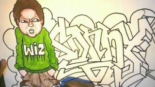 getlinkyoutube.com-A Quick Graffiti Drawing (Requested) By (SONNY) by WIZARD (speed drawing)