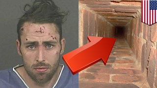 getlinkyoutube.com-Parkour fail: Man plunges 40 feet down chimney trying to film a parkour video - TomoNews
