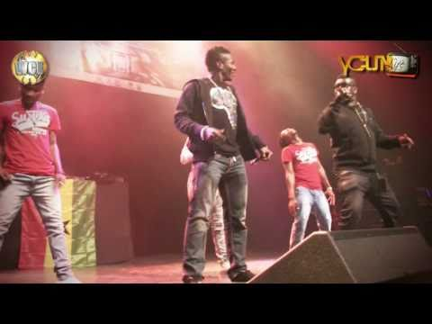 "Castro Ft. Asamoah Gyan (Baby Jet) Performing ""African Girls"" LIVE @ O2 Arena, London"