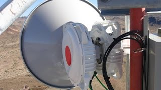 getlinkyoutube.com-Point To Point Wireless Connectivity 36.8KM Long Range by PowerBeam M5 AC 500