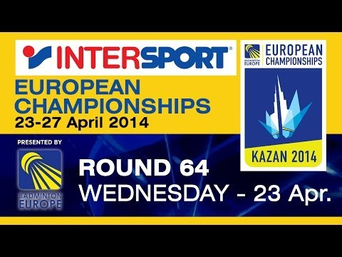 R64 - MS - Henri Hurskainen vs Yuhan Tan - 2014 INTERSPORT European C'ships