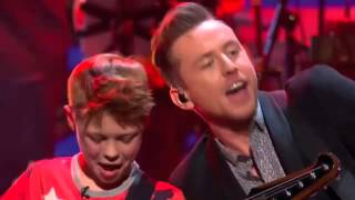 TOBY LEE AND McFLY AT THE LONDON PALLADIUM! ©ITV