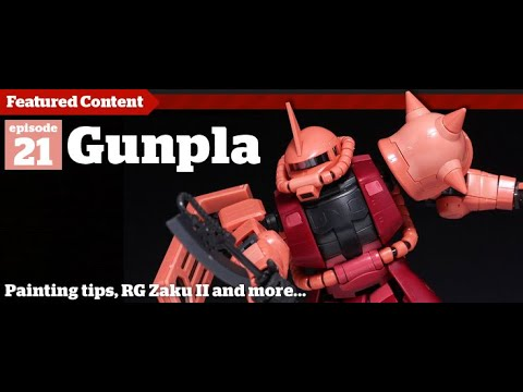 Gunpla - Episode 21 - 1/144 HGUC MSN-06S Sinanju Gundam - Building - Tutorial