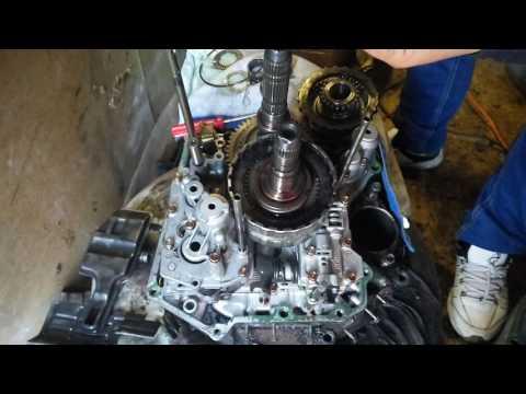 Ремонт АКПП MP1C Одессей (осмотр фрикционных дисков)