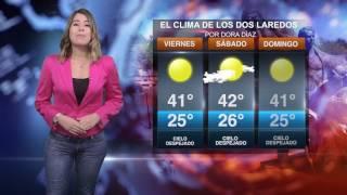 CLIMA VIERNES 16 DE JUNIO