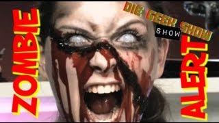 getlinkyoutube.com-Zombie MakeUp Tutorial: Blutige Wunde im Gesicht   Cookie zeigt wie es geht!