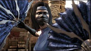 getlinkyoutube.com-Mortal Kombat X - Kitana Klassic Costume Ladder Walkthrough and Ending