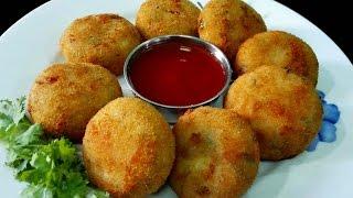 getlinkyoutube.com-Rava Cutlets Recipe || Suji Cutlet / Rava Cutlets ( Vegan)