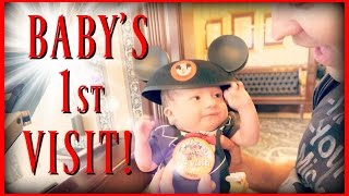 getlinkyoutube.com-BABY'S FIRST TRIP TO DISNEYLAND!! | MEET OUR NEW FRIENDS!!