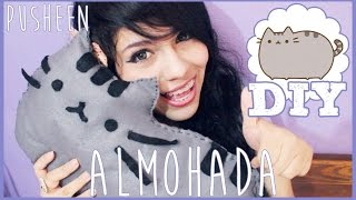 getlinkyoutube.com-DIY: Almohada PUSHEEN ♥ Mina