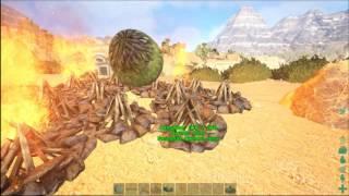 getlinkyoutube.com-Ark Scorched Earth: INCUBATING WYVERN EGGS!!!!