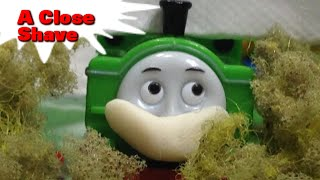 """getlinkyoutube.com-トーマス プラレール ガチャガチャ とこやにいったダック Tomy Plarail Thomas """"A Close Shave"""""""