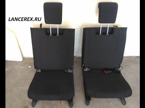 Третий ряд сидений Аутлендер 3