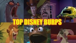 getlinkyoutube.com-Top 10 Disney Burps