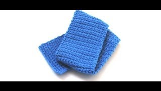 getlinkyoutube.com-Simple Crochet Scarf by Crochet Hooks You