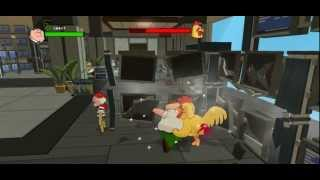 getlinkyoutube.com-Family Guy Back to the Multiverse - Chicken Fight