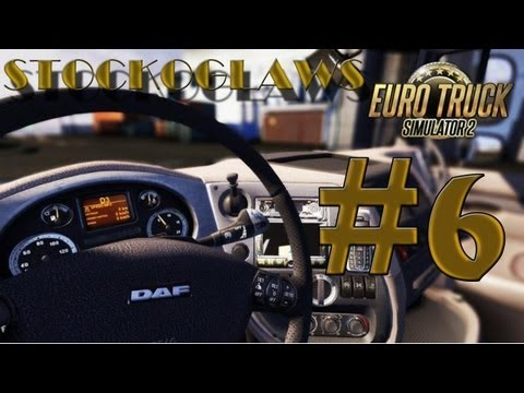Lets Play Euro Truck Simulator 2 - Ep 06 (Off to Carlisle ! )