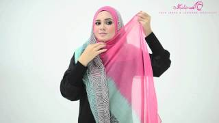 getlinkyoutube.com-Tutorial : 4 Ways to Style Wide Shawl by MuslimahClothing.com