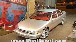 getlinkyoutube.com-Silver 1996 Chevy Impala by 813 Customs