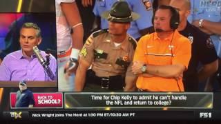 getlinkyoutube.com-Colin Cowherd on Where Chip Kelly Should Coach Next