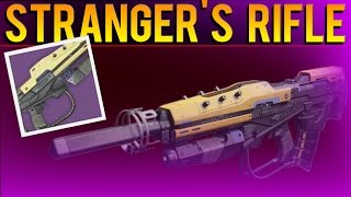 Destiny - Year 2 Legendary Stranger's Rifle & How To Get One