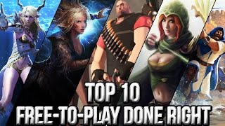 getlinkyoutube.com-Top 10 Free to Play Done Right 2015 | FreeMMOStation.com