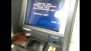 Tutorial! Cara Penarikan Uang di ATM BRI