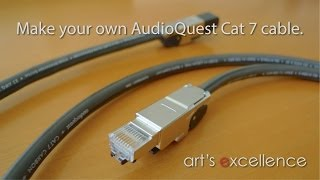 getlinkyoutube.com-Make your own AudioQuest Cat 7 cable with Telegärtner connectors.