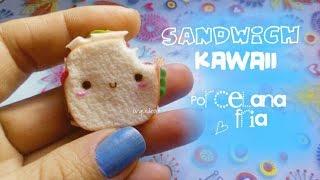 Sándwich KAWAII 👉porcelana fría👈