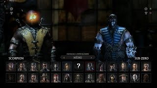 Mortal Kombat X: Scorpion vs Sub-Zero Gameplay PT/BR (DUBLADO) PS4