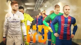 getlinkyoutube.com-Pro Evolution Soccer 2017 Barcelona vs Real Madrid GamePlay PES 2017