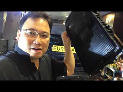 Расположение у BMW Х4 М воздушного фильтра