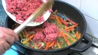 getlinkyoutube.com-Viande hachee aux legumes