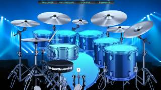Kiss Me- Sixpence None the Richer (Virtual Drumming)