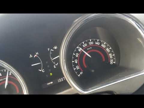 Разгон 0-100 Toyota Highlander 2gr-fe