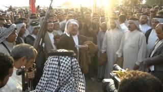 getlinkyoutube.com-1تشييع الخال ابراهيم الزريجي رئيس عام عشائر آل غريب