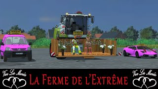 getlinkyoutube.com-Farming simulator / LA FERME DE L'EXTRÊME / JUST MARRIED / rôle play / the end