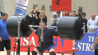getlinkyoutube.com-2011 World's Strongest man- Squat Lift- Zydrunas Savickas