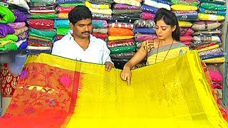getlinkyoutube.com-Latest Collection of Kanchi Pattu and Designer Sarees | Sogasu Chuda Tarama | Vanitha TV