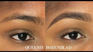"getlinkyoutube.com-""Natural"" Eye Brow tutorial using Pencil - Queenii Rozenblad"