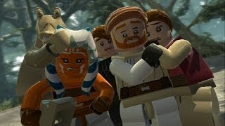 LEGO Star Wars III: The Clone Wars Walkthrough - Part 16 - Blue Shadow Virus