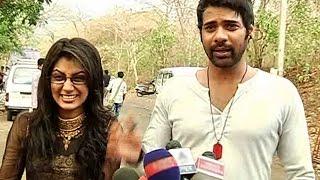 getlinkyoutube.com-Kumkum Bhagya 3rd March 2015 Full Episode | Abhi And Pragya Jungle Love Scene | Behind The Scene