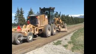 getlinkyoutube.com-Montana Gravel Road Video - Flathead County