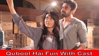 getlinkyoutube.com-Qubool Hai | Fun With The Cast | Part 17