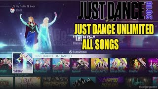 getlinkyoutube.com-Just Dance 2016 - All Songs Just Dance Unlimited Full Songlist - Full Game [ HD ]