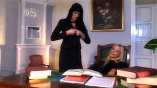 getlinkyoutube.com-Lesbian Sex in Office